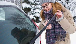 Aide-mémoire : l'entretien automobile en hiver