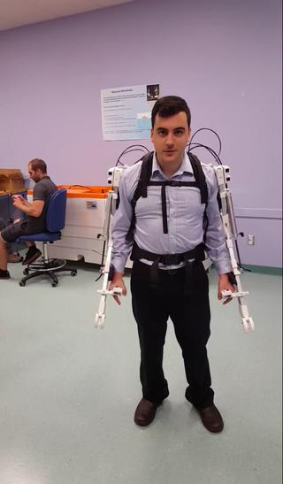 L'Exosquelette, un robot qui redonne la force
