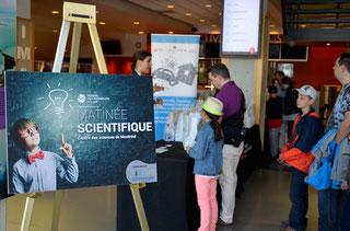 Matinée scientifique au Centre des sciences de Montréal