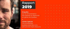 Enquête : La rémunération des salariés en génie au Québec a a...
